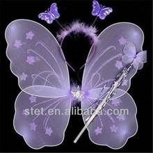 Wholesale Silk Kids Fairy Butterfly Wings