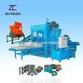 Iso9001 qty4-20a hidráulicos semi-automática de blocos de concreto que faz a máquina