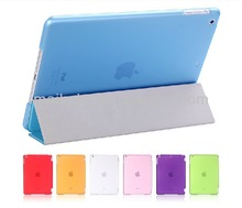 High quality new for i pad air smart cover with Magnetic