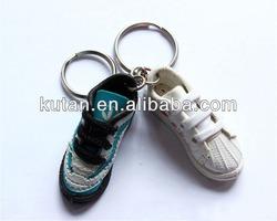 Promotional cute mini running shoe keychain