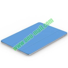 Multifunctional 3-folding Polyurethane Smart Cover Leather Case for iPad Air