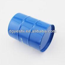 Oil drum shape tin box,barrel tin can