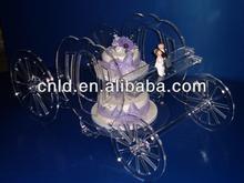 acrylic wedding cake stands