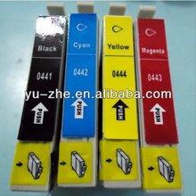 EPSON T0441 T0442 T0443 T0444 compatible ink cartridge FOR Epson Stylus C64/C66/C84/C84N/C84WN/C86 Stylus CX3600/CX3650