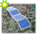 de peso ligero portátil cargador de batería solar