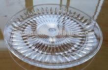 Acrylic fruit tray acrylic tray acrylic fruit plate plastic fruit tray