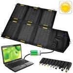 21W Portable Folding Solar Panel / Solar Charger Bag for Laptops / Mobile Phones, 18V / 5V