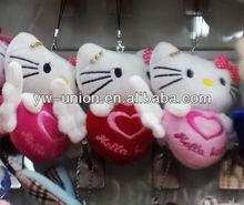 Best selling plush cat keychain