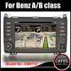 "OEM 7"" in dash 2 din car radio dvd gps navi bluetooth touch screen headunit for mercedes benz A class"