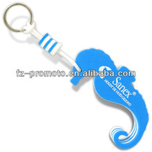 Seahorse floating key chains