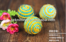 Wholesale Sisal Hemp Ball for Cat Dog Pet Toys Cat Toys for Grinding Claws Pet Products Cat Products