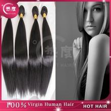 Wholesale Virgin Peruvian Hair Extensions aaaaa Cheap Silk Straight Wave Human Weaving