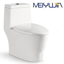 Foshan sanitary ware bathroom siphonic one-piece toilet commode