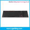 2.4 G Mini Wireless Handheld PC keyboard bluetooth keyboard with touchpad for ipad/iphone
