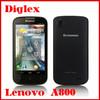 Lowest price high quality lenovo a800 andriod 4.0 mtk6577 dual core 512mb 4gb single camera dual sim wcdma gsm phone