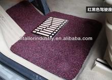 The Popularest PVC Coil Car Mat,Free Cut PVC Spinneret Automible Floor Mats