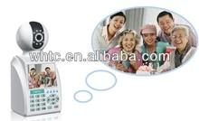 3.5inch Lcd video call wireless ip camera p2p