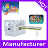 Automatic plastic standup bag with spout filling sealing machine