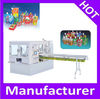 Automatic plastic stand up bag with spout filling capping machine