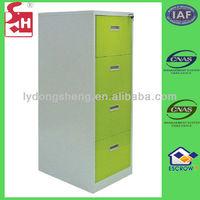 4 drawer metal cabinet filing cabinet office furniture
