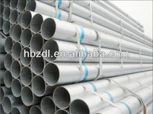 DN100 hot dip galvanized seamless steel pipe