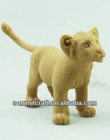 Wild animal toy model samll plastic lion toys