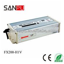 SANPU 2013 hot selling CE ROHS waterproof 200w 27v 220v led driver,printer power supply,transformer for led light