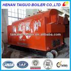 High efficiency wood/coal/biomass fired steam boiler