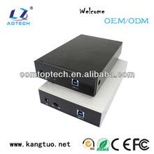 Various styles 3.5 hdd lan enclosure nas storage hard drive box