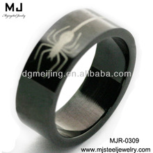 Stainless Steel Boys Rings Can Adjust Ring Size (MJR-0309)