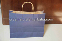 Paper shopping bag for cloth and shoes