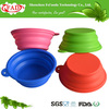 Reusable Food Grade Collapsible Silicone Pet Food And Water Bowl, Pet Products