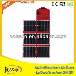 100 watt folding solar panel, high efficiency 23%