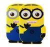 Newest 3D Cute Cartoon Soft Silicone Case Cover For Apple iPad Mini