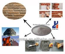Ethylene vinyl acetate Redispersible polymer powder in EIFS and flexible tile adhesives
