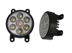 7 lamp beads led Fog Light for For Ford, Peugoet, Suzuki: Focus, Fiesta, Peugoet307, SX4, Swift
