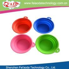 100% Food Grade Silicone Novelty Folding Silicone Cheap Dog Bowl