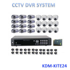 All in one kits !!! 24ch Economic car camera dvr system, easy to use home security system