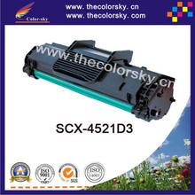 (CS-S4521) BK compatible toner printer cartridge for samsung scx-4521d3 scx-4321 scx-4521 scx-4321f scx-4521f (3k pages)