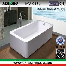 Acrylic Free standing bathtub MV-015L