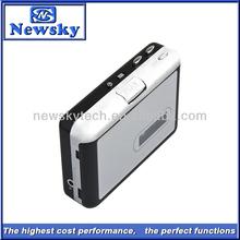 Portable Media Player Turn Tapes Into MP3 & Wave USB Walkman Recorder