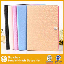 Diamond pattern Magnetic Stand Leather Case For Ipad Air for ipad 5