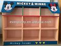 Muebles infantiles, de madera del zapato estantes organizador, los niños zapatos del estante
