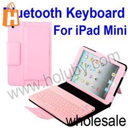 For iPad Mini Keyboard Case,Bluetooth Keyboard+Leather Case for iPad Mini