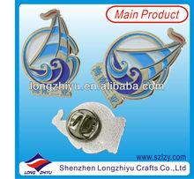 Fancy Lovely Cheap Enamel Pin Badges,Poppy Lapel Pin,Active Custom Metal Pins For Promotion
