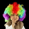 kids colorful wig