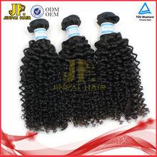 JP Hair Shedding Free Wholesale Virgin Indian Jerry Curl Hair Weave