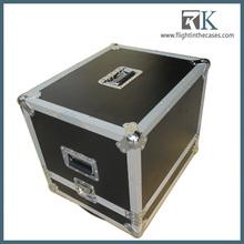 2013 RK- aluminum speaker flight case with foam padding
