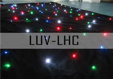 led stage curtain light/led falling star lights