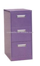 purple narrow kids 3-tier toy chest closet with 3 drawers/laptop corner 3 tier storage drawer cabinets